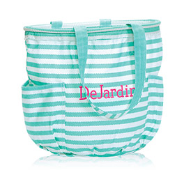 Retro Metro Bag in Turquoise Wave - 3218