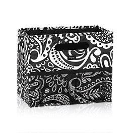 Fold N File in Black Playful Parade - 3890