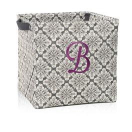 Square Storage Bin in Playful Pinwheel - 4437