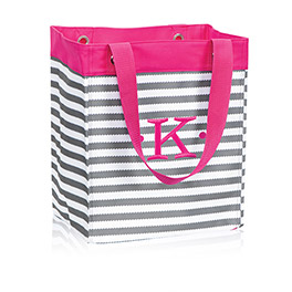 Essential Storage Tote in Grey Wave - 4446