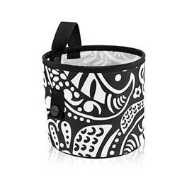 Oh-Snap Bin in Black Playful Parade - 4598