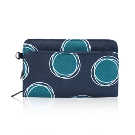Perfect Cents Wallet in La-Di-Dot - 4808