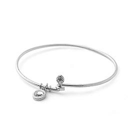 Cherish Bracelet in Silver Tone - 6154