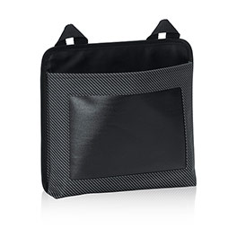 Oh-Snap Pocket w/ Chalk Panel in Black Twill Stripe w/ Chalk - 6192