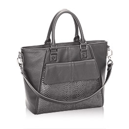 Diamond District in City Charcoal Snake - 8005