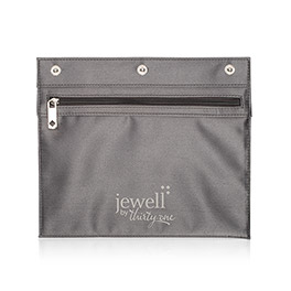 Zipper Pocket in City Charcoal - 8015