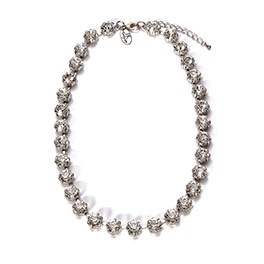 Everlasting Necklace in Silver Tone - 8190