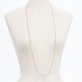 """40"""" Ball Chain in Gold Tone - 8200"""