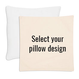 Statement Canvas Pillow Cover & Insert 24x24 in Natural - 8401