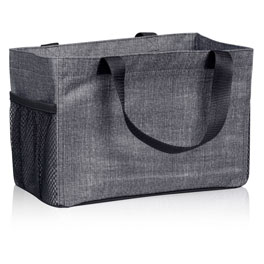 All-In Organizer in Charcoal Crosshatch - 8495