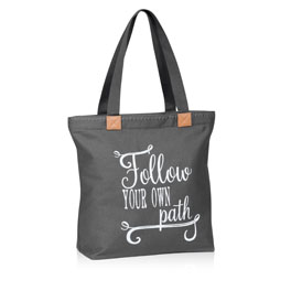 Wander Tote in Follow Your Own Path - 8496