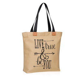 Wander Tote in Live True & Be You - 8496