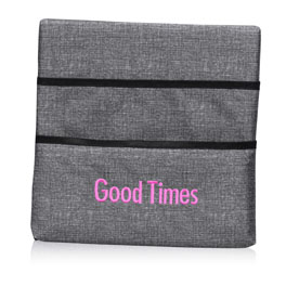 Wall Together Pocket Board in Charcoal Crosshatch - 8507