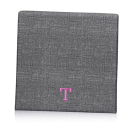 Wall Together Pinboard in Charcoal Crosshatch - 8553