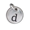 Silver Tone Initial D