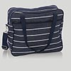 Navy Wide Stripe