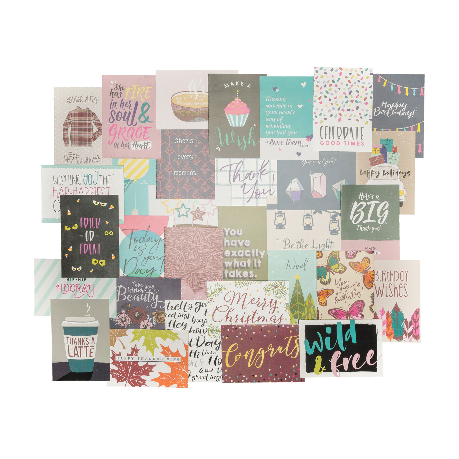 Fall 2018 Celebrate Card Set Thirty One Gifts