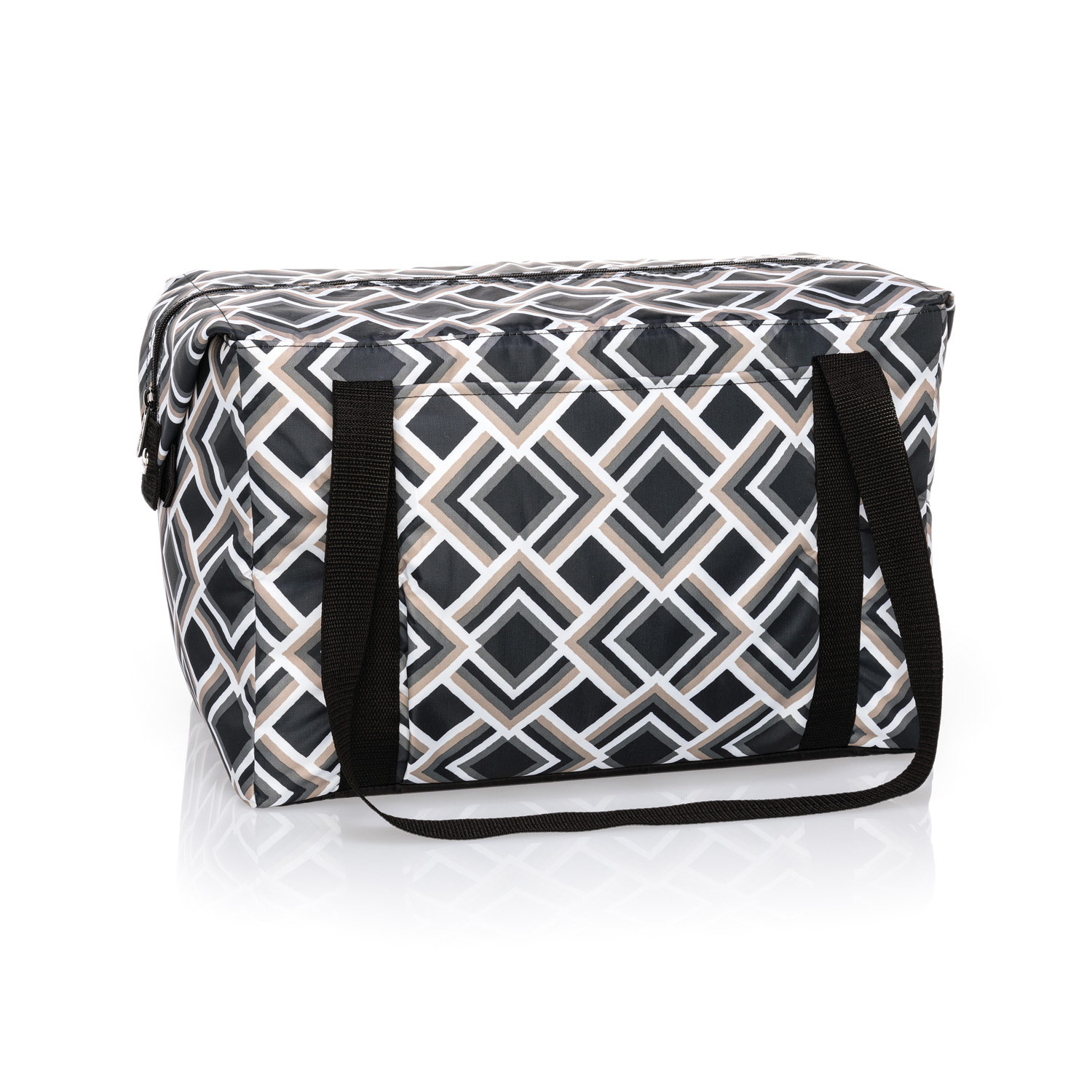 Charcoal Crosshatch - Fresh Market Thermal - Thirty-One Gifts 5efb1b7656c64