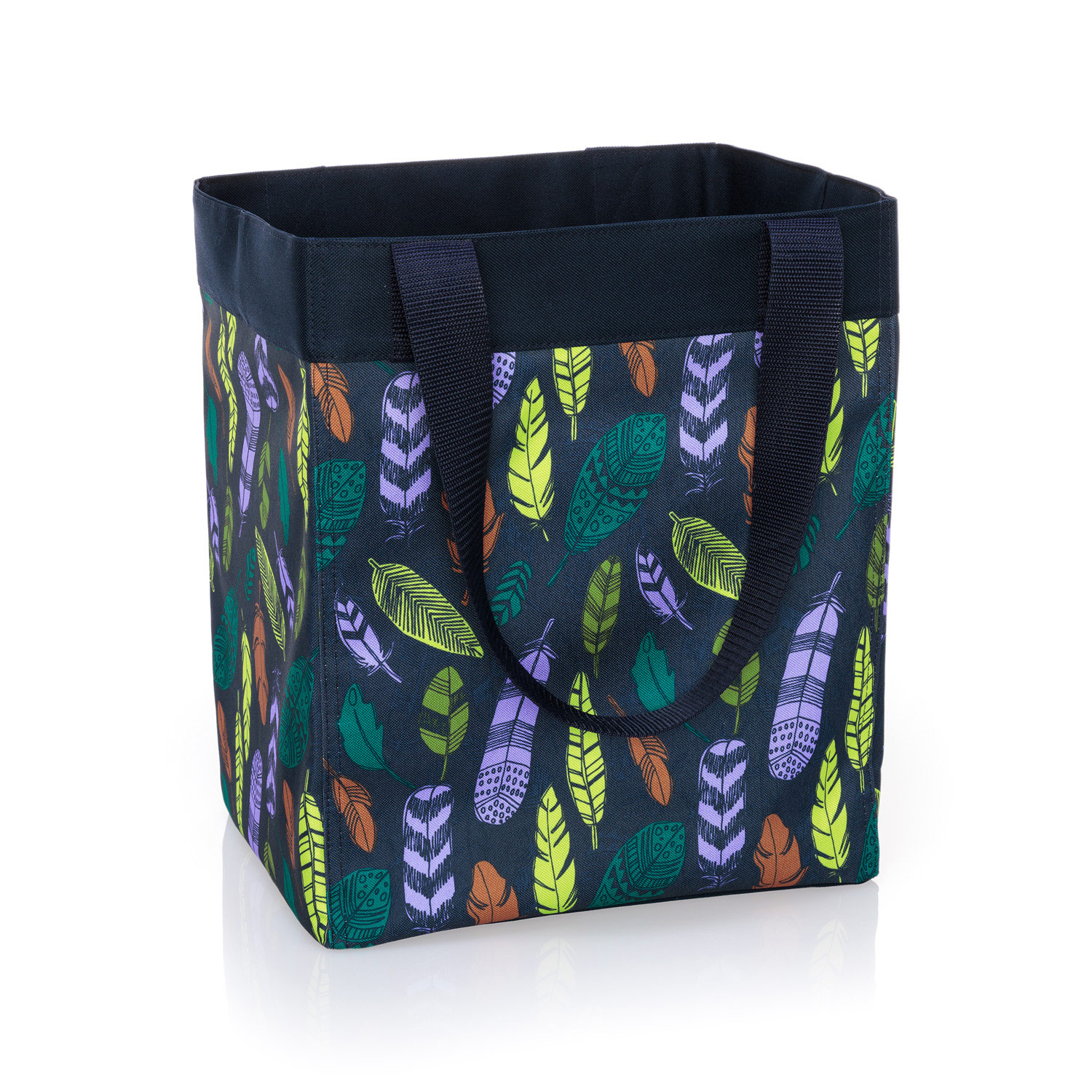 Essential Storage Tote   Falling Feathers