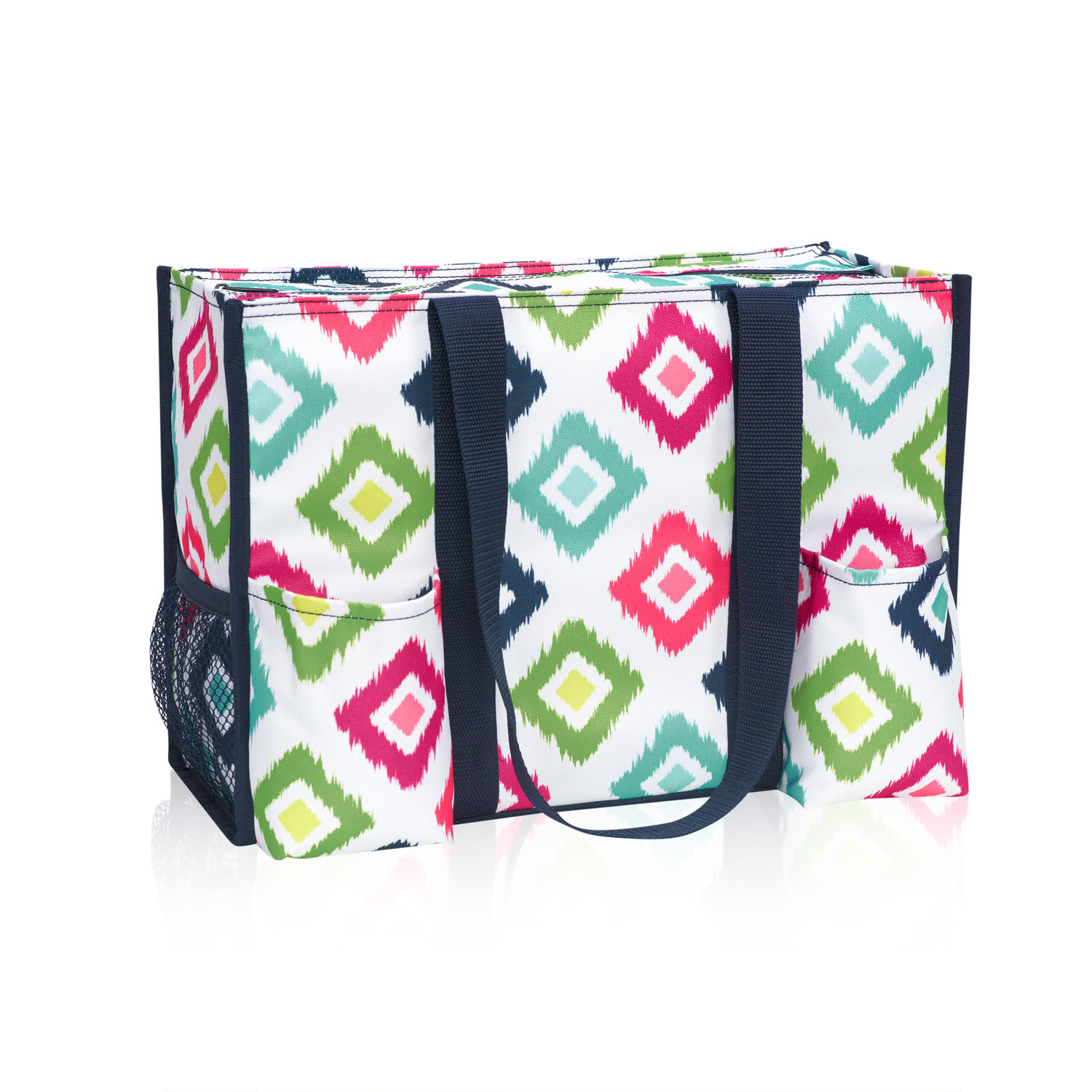 Candy corners zip top organizing utility tote thirty