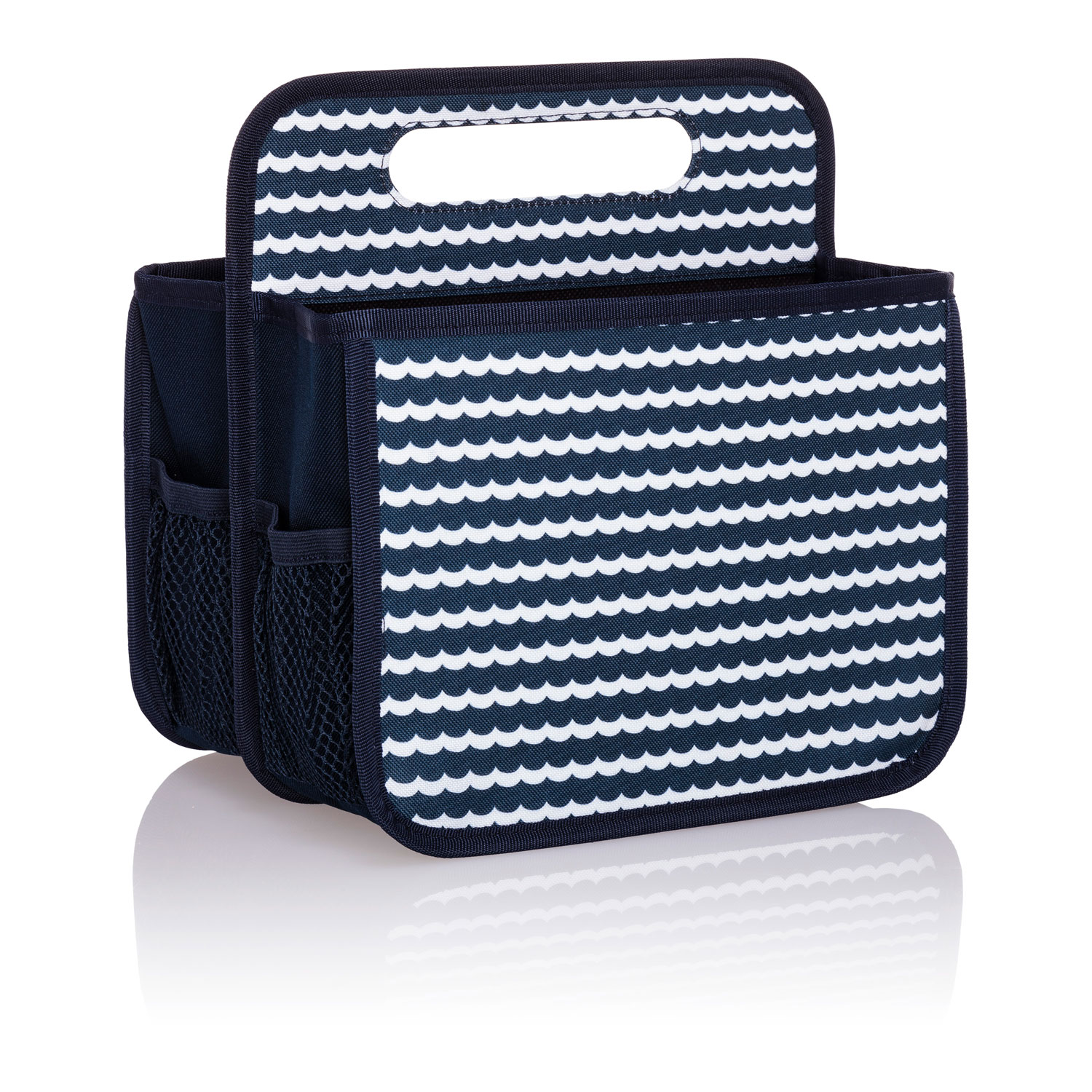 bd1e18759a Scallop Stripe - Double Duty Caddy - Thirty-One Gifts