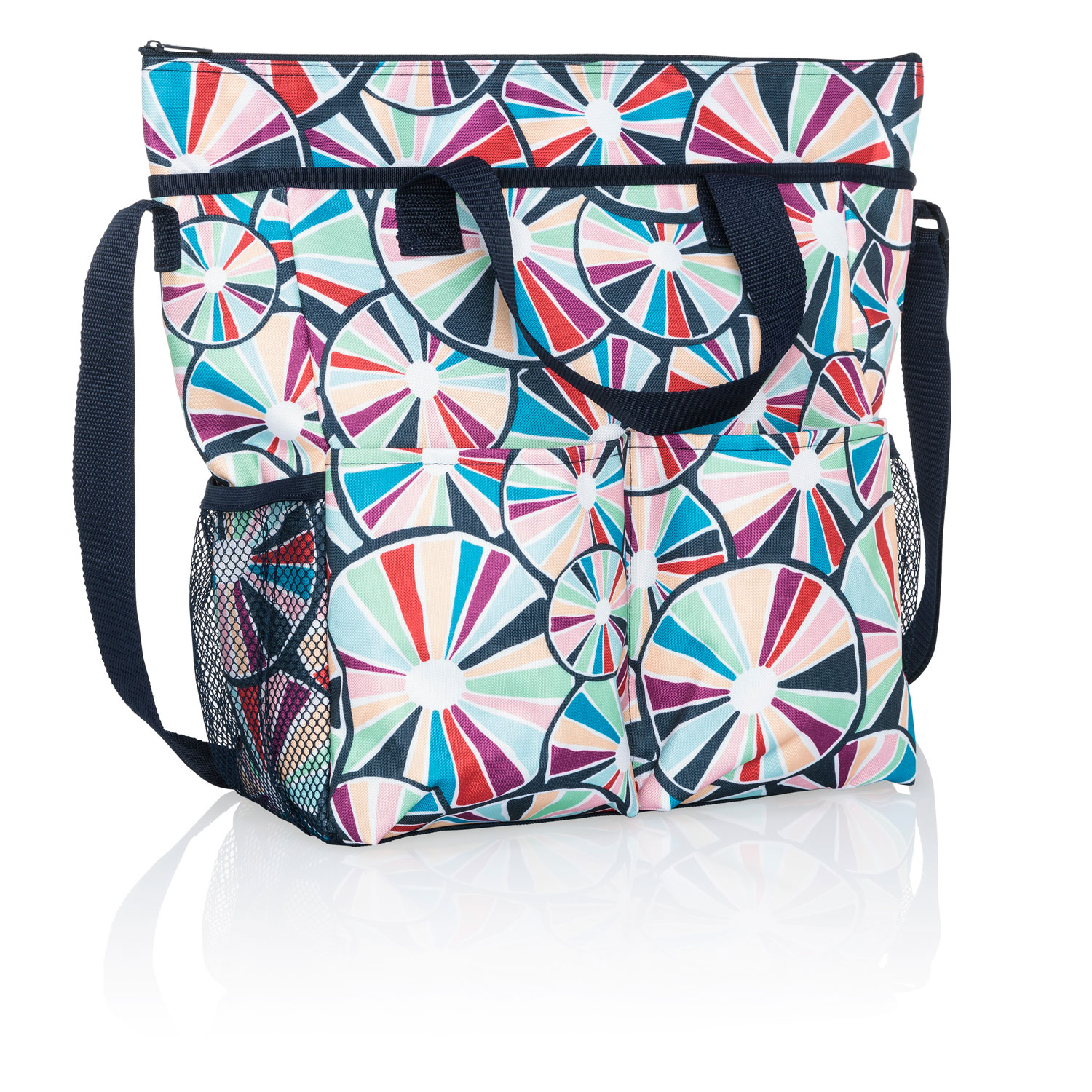 789b9b477134 Pinwheel Party - Crossbody Organizing Tote - Thirty-One Gifts