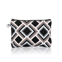 Mini Zipper Pouch - Deco Diamond