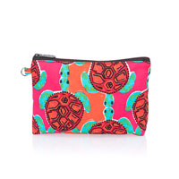 Mini Zipper Pouch - Sea Turtle Tango