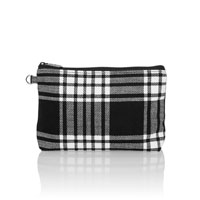 Mini Zipper Pouch - Perfectly Plaid