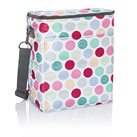Picnic Thermal Tote - Polka Dot Pop