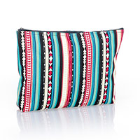 Zipper Pouch - Southwest Stripe