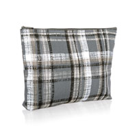 Zipper Pouch - Cozy Plaid