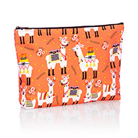 Zipper Pouch - Llama-Rama