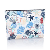 Zipper Pouch - Saltwater Shells