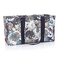 Large Utility Tote - Brushed Bloom