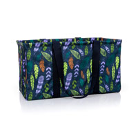 Large Utility Tote - Falling Feathers