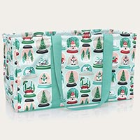 Large Utility Tote - Snow Globe Shake-Up