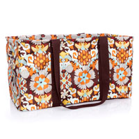 Large Utility Tote - Tapestry Floral
