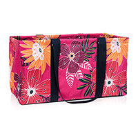 Large Utility Tote - Tropical Garden