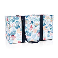 Large Utility Tote - Saltwater Shells
