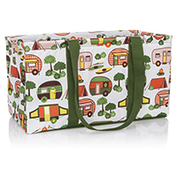 Large Utility Tote - Gone Campin'