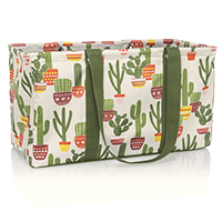 Large Utility Tote - Cactus Cuties