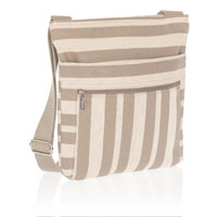Organizing Shoulder Bag - Double Stripe