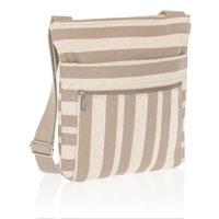 Organizing Shoulder Bag - Double Stripe