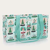 Medium Utility Tote - Snow Globe Shake-Up