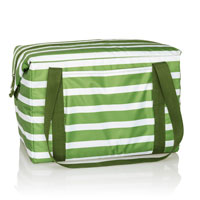 Fresh Market Thermal - Green Cabana Stripe