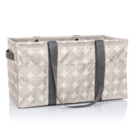 Deluxe Utility Tote - Deco Dots