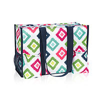 Zip-Top Organizing Utility Tote - Candy Corners