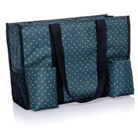 Zip-Top Organizing Utility Tote - Dot Trio