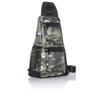 Sling-Back Bag - Camo Crosshatch